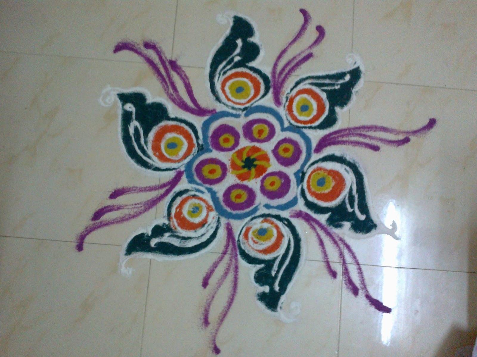 art corner latest rangoli designs